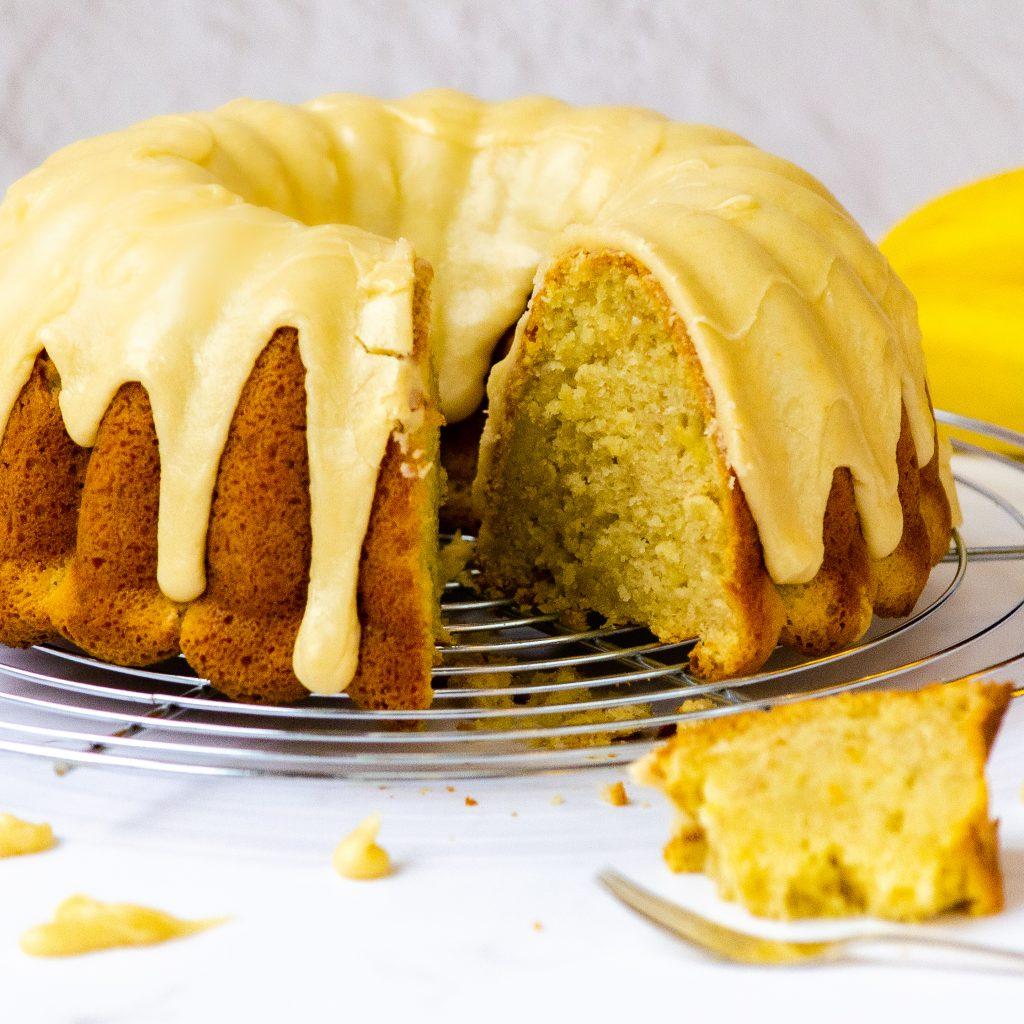 Banoffee Bundt Cake
