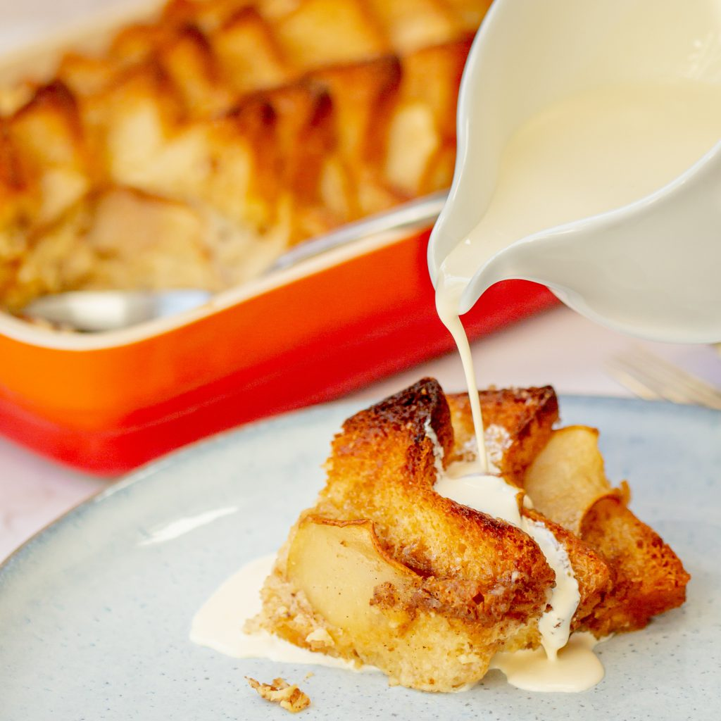 Comforting Bread and Butter Pudding