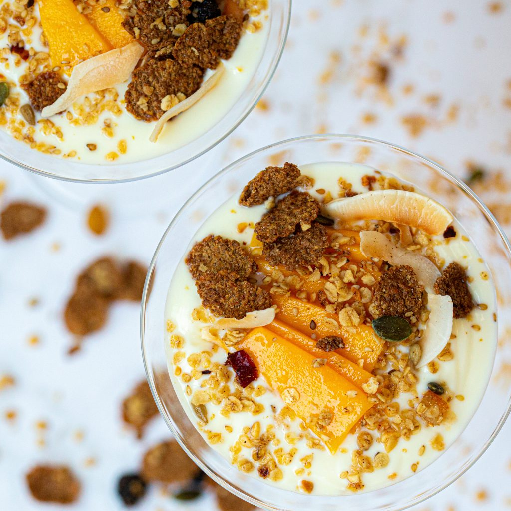 Good Morning Orange and Cinnamon Granola